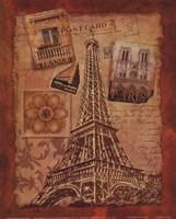 """Memories of Paris by Conrad Knutsen - 8"""" x 10"""""""