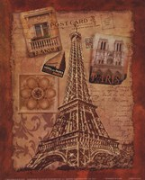 Memories of Paris Fine Art Print