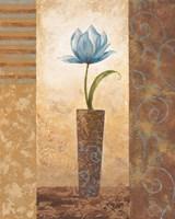 Brazen Blue Tulip Fine Art Print