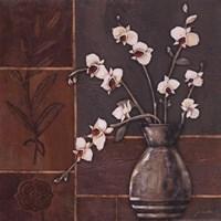 """Orchid II by Jo Moulton - 12"""" x 12"""""""