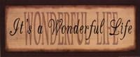 "Wonderful Life. by Kim Klassen - 20"" x 8"""
