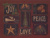 Joy Peace Love Fine Art Print