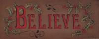 """Believe by Kim Lewis - 20"""" x 8"""""""