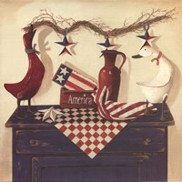 "America by Linda lane - 12"" x 12"" - $9.49"