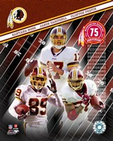"2007 - Redskins ""Big 3"" Fine Art Print"