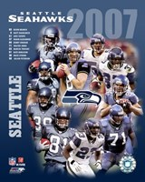 2007 - Seahwks Team Composite Fine Art Print