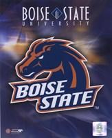 Boise State University Logo Fine Art Print