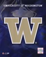 University of Washington Logo Fine Art Print