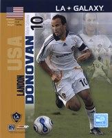 Landon Donovan - 2007 International Series #26 Framed Print