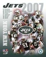 2007 - Jets Team Composite Fine Art Print