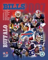 2007 -  Bills Team Composite Fine Art Print