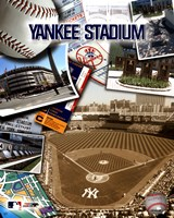Yankee Stadium Composite Fine Art Print