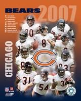 """Bears - 2007 Team Composite by Ahava - 8"""" x 10"""""""