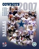 """2007 - Cowboys Team Composite by Ahava, 2007 - 8"""" x 10"""""""