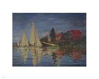 Regatta at Argenteuil by Claude Monet - various sizes