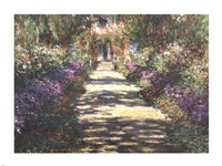 Garden at Giverny Fine Art Print