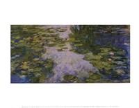 Water Lilies, 1917/1919 Fine Art Print