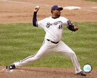 Francisco Cordero - 2007 Pitching Action Fine Art Print