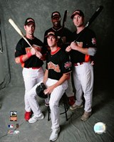 """Phillies - 2007 All Star Game Group Shot by Ahava - 8"""" x 10"""""""