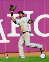 """Melky Cabrera - 2007 Fielding Action by Ahava - 8"""" x 10"""", FulcrumGallery.com brand"""