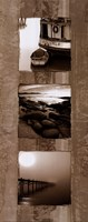 "Coastal Panel IV by Steven Mitchell - 8"" x 20"""