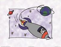 Rocketship II Fine Art Print