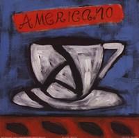 Americano Fine Art Print