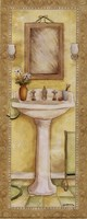 Pedestal and Toothbrush Fine Art Print