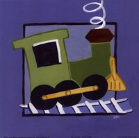"Kiddie Train by Lynn Metcalf - 8"" x 8"""