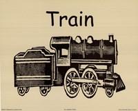 "Train by Ahava - 10"" x 8"" - $9.99"