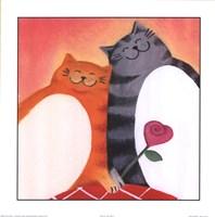 Fat Cats II Fine Art Print