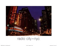 Radio City NYC Fine Art Print