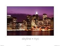 Skyline NYC Fine Art Print