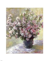 Vase of Flowers by Claude Monet - various sizes - $25.49