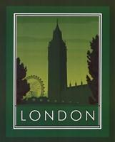 """London by Paulo Viveiros - 16"""" x 20"""""""