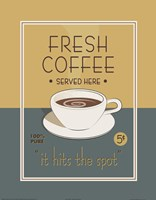 Fresh Coffee Fine Art Print
