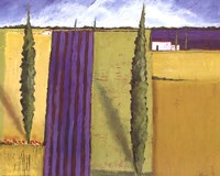 Lavender Field I Fine Art Print