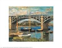 Bridge at Argenteuil Fine Art Print