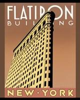 """Flatiron Building by Barbara Anne James - 16"""" x 20"""""""