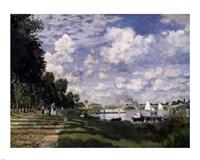 Le Bassin d'Argenteuil by Claude Monet - various sizes