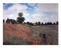 Les Coquelicots by Claude Monet - various sizes