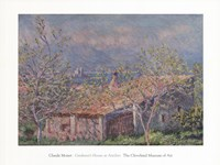 Gardener's House at Antibes, 1888 Fine Art Print