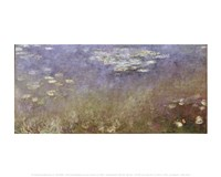 """Water Lilies-1926 by Claude Monet, 1926 - 14"""" x 11"""""""