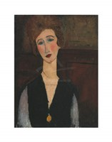 Portrait of a Woman, c.19171918 Fine Art Print