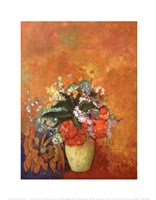 "Vase of Flowers, 1905 by Odilon Redon, 1905 - 11"" x 14"" - $10.99"