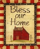 Bless our Home Framed Print