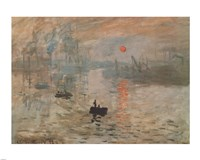 Impression, Sunrise (green), 1872 by Claude Monet, 1872 - various sizes