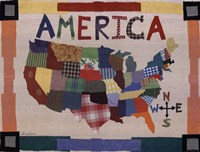 "America by Laura Paustenbaugh - 16"" x 12"" - $11.99"