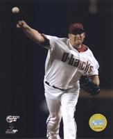 "Brandon Webb - 2007 NLDS / Game 1 by Ahava - 8"" x 10"", FulcrumGallery.com brand"