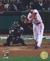"Mike Lowell - '07 World Series / Game 2 (#6) by Ahava - 8"" x 10"""